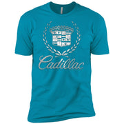 Cadillac Logo T-Shirt Classic Look – Short Sleeve T-Shirt