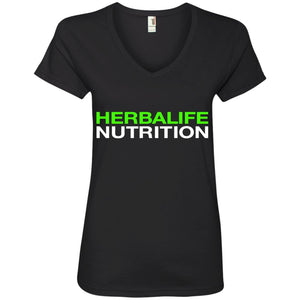 HERBALIFE NUTRITION – Ladies' V-Neck T-Shirt