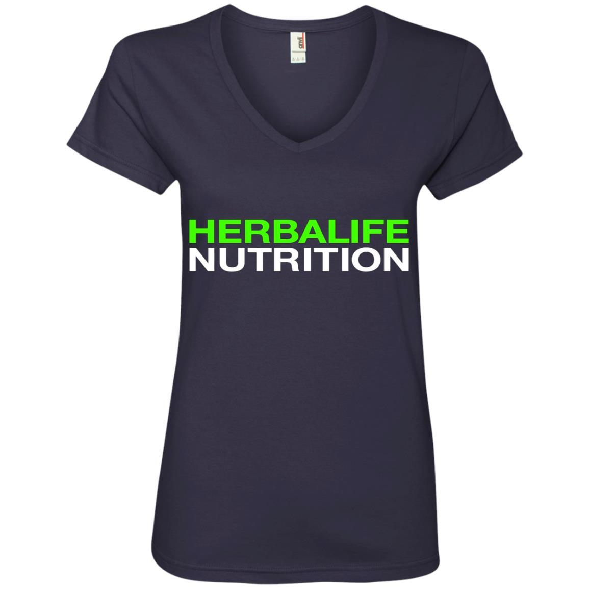 HERBALIFE NUTRITION - Ladies' V-Neck T-Shirt Style / Color / Size