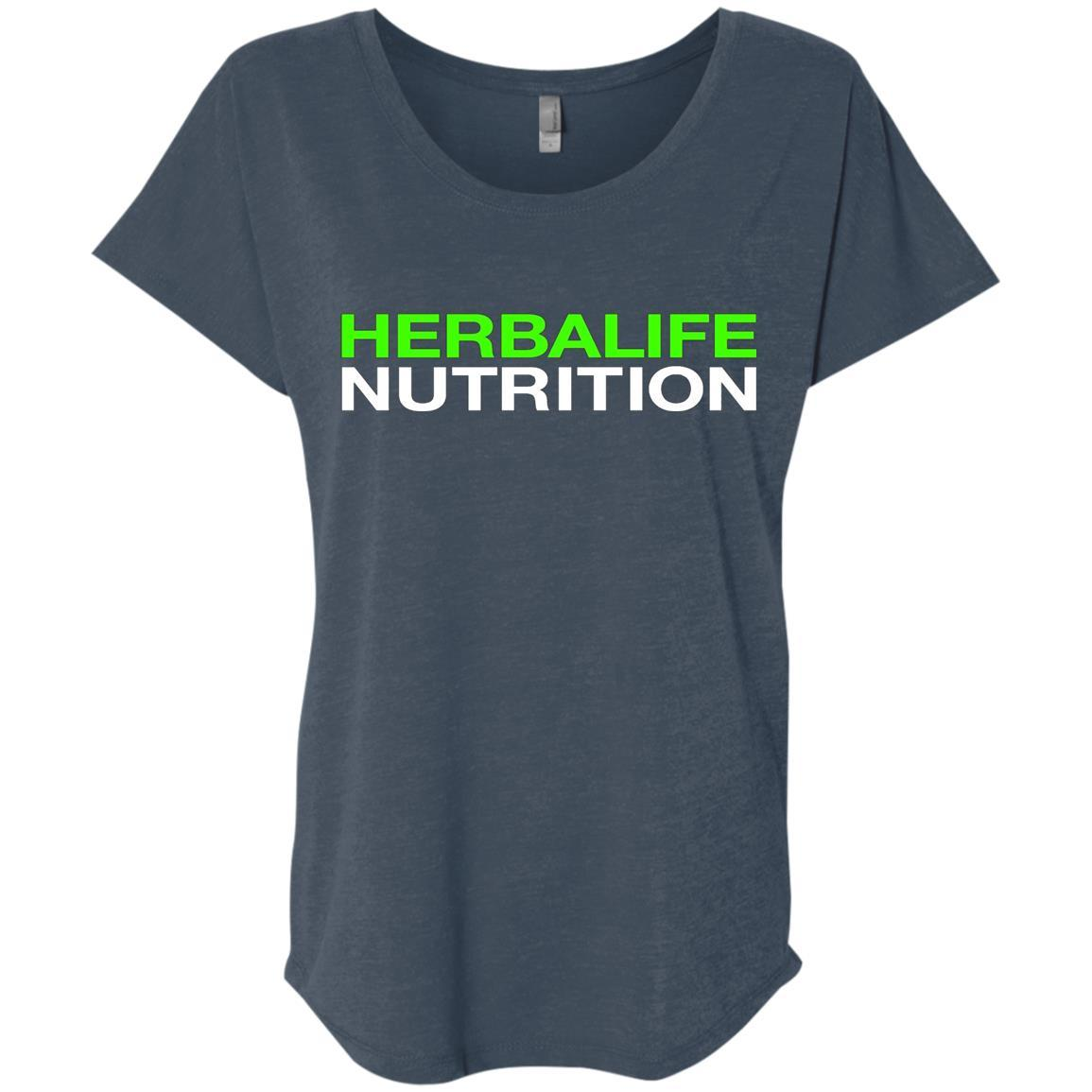 HERBALIFE NUTRITION - Ladies' Triblend Dolman Sleeve Style / Color / Size