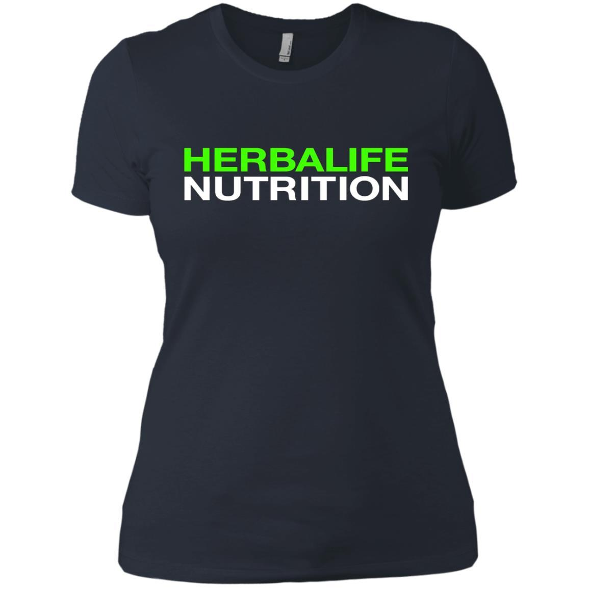 HERBALIFE NUTRITION - Ladies' Boyfriend T-Shirt Style / Color / Size
