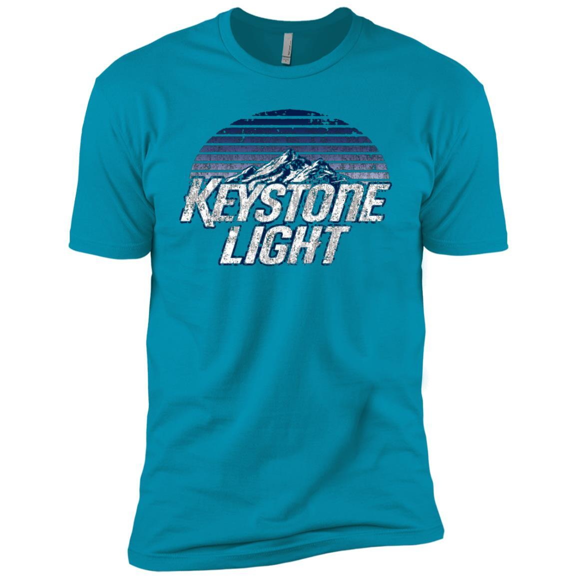 Keystone Light Beer Classic Look - Short Sleeve T-Shirt Style / Color / Size