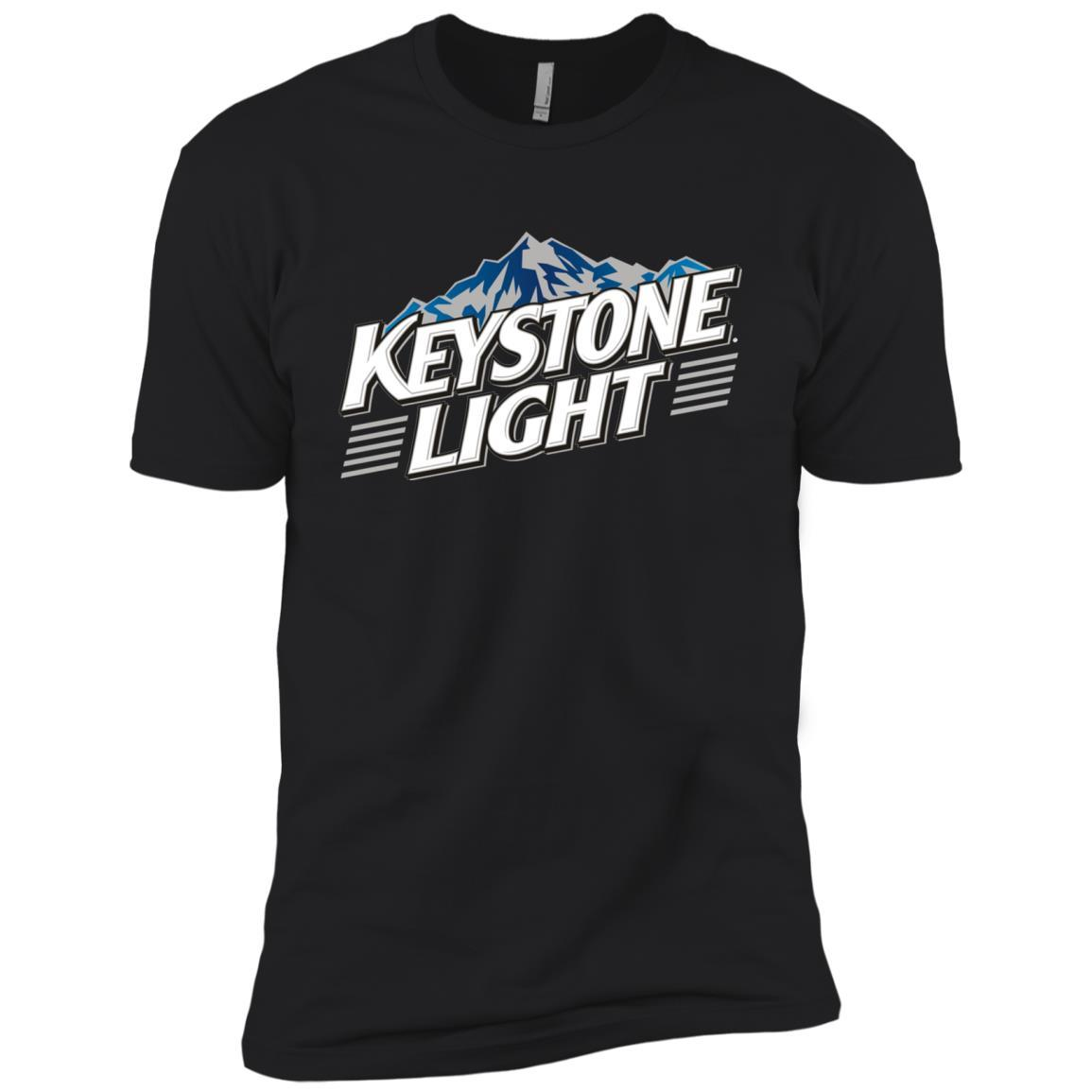 Keystone Light Beer - Short Sleeve T-Shirt Style / Color / Size