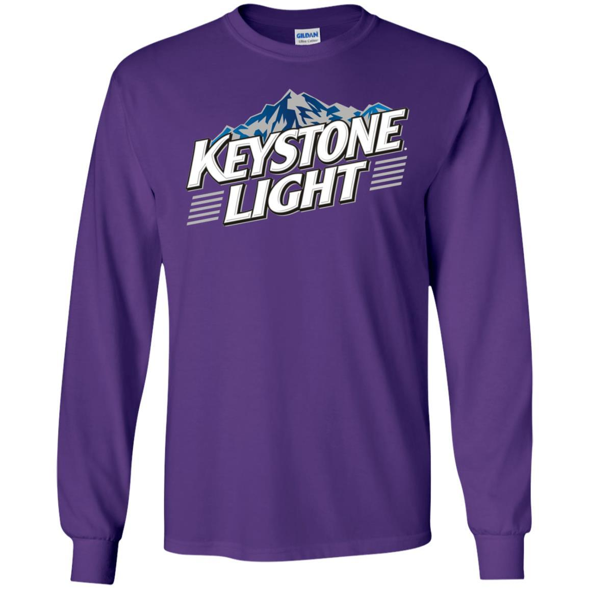 Keystone Light Beer - LS T-Shirt Style / Color / Size