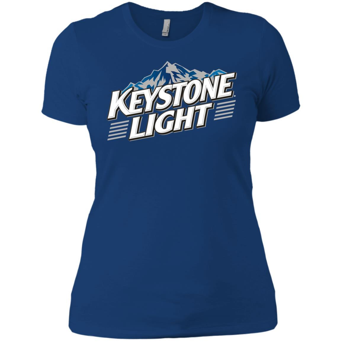 Keystone Light Beer - Ladies' Boyfriend T-Shirt Style / Color / Size