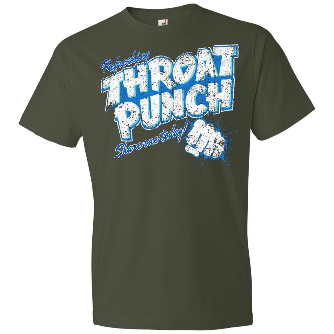Refreshing Throat Punch Grunge - Anvil Lightweight T-Shirt Style / Color / Size