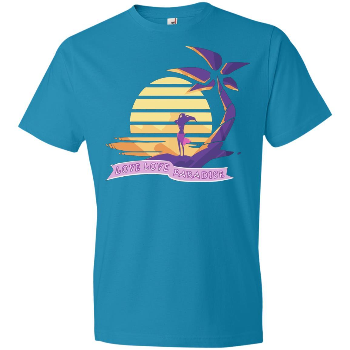 Aphmau Love - Love Paradise - Anvil Lightweight T-Shirt Style / Color / Size
