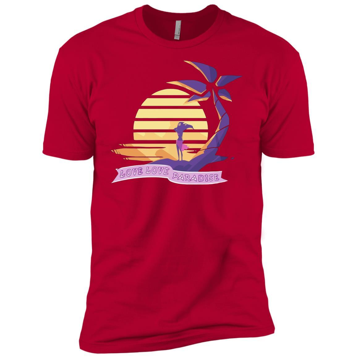 Aphmau Love - Love Paradise - Short Sleeve T-Shirt Style / Color / Size