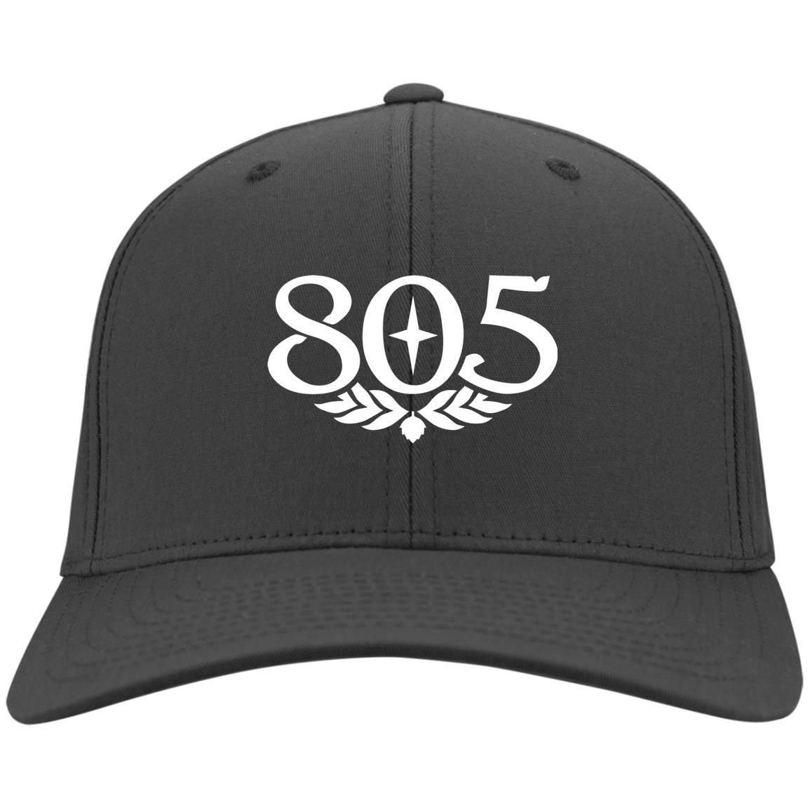 805 Beer - Port & Co. Twill Cap Charcoal