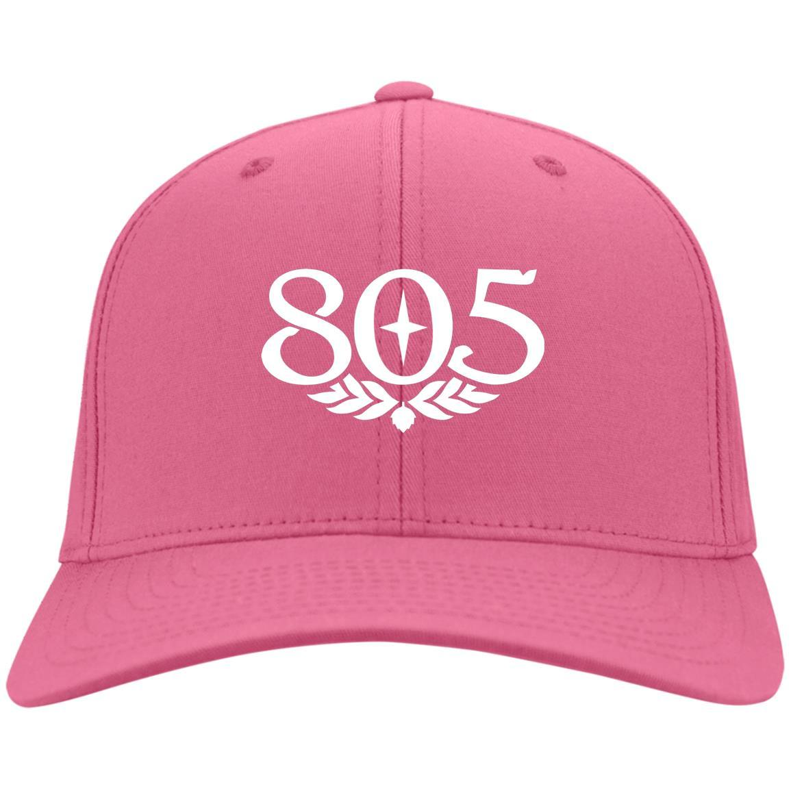 805 Beer - Port & Co. Twill Cap Neon Pink