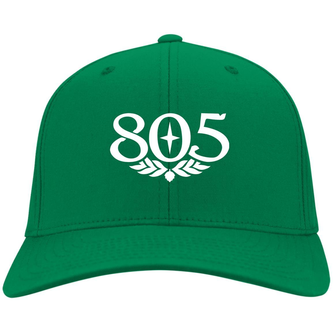 805 Beer - Port & Co. Twill Cap Kelly Green