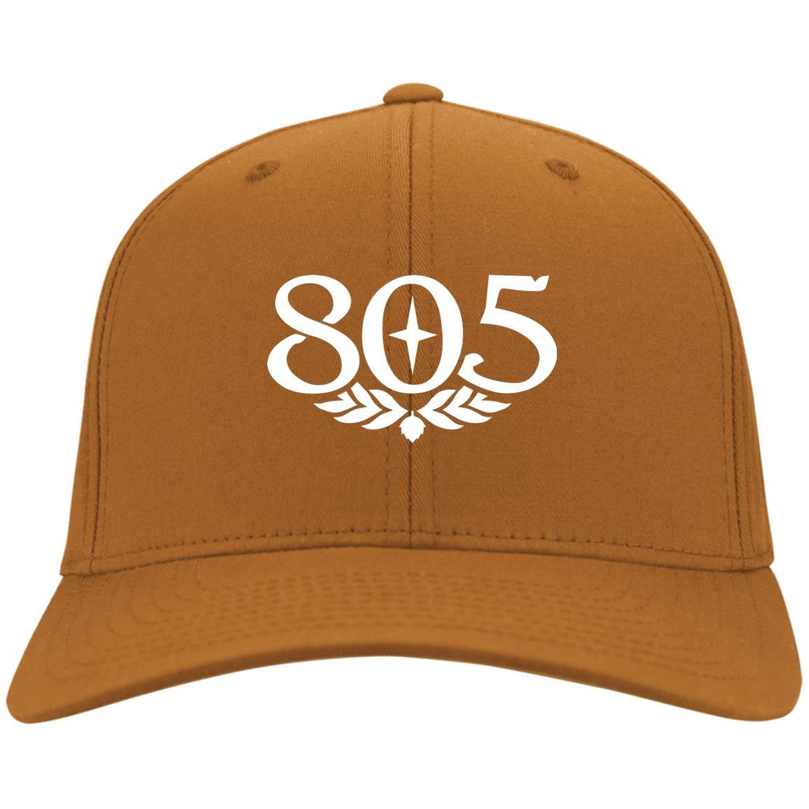 805 Beer - Port & Co. Twill Cap Texas Orange