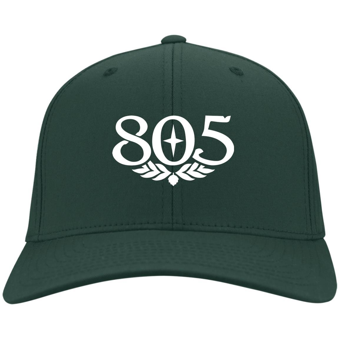805 Beer - Port & Co. Twill Cap Hunter Green