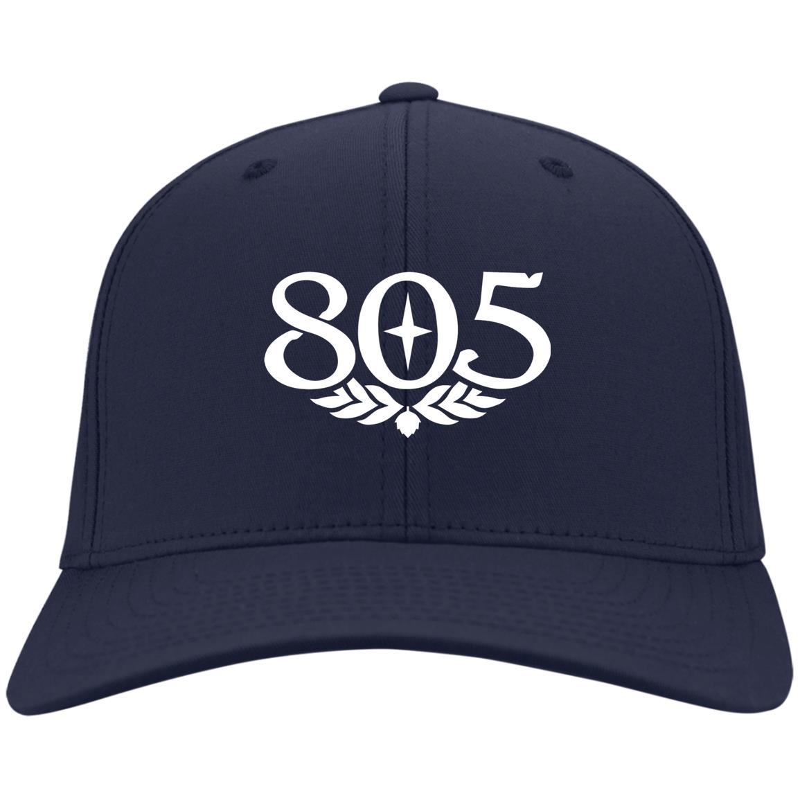 805 Beer - Port & Co. Twill Cap Navy