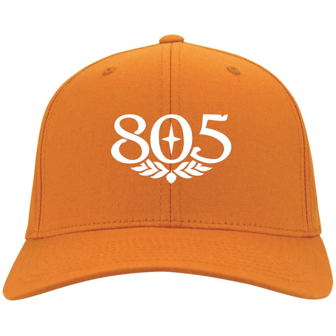 805 Beer - Port & Co. Twill Cap Orange