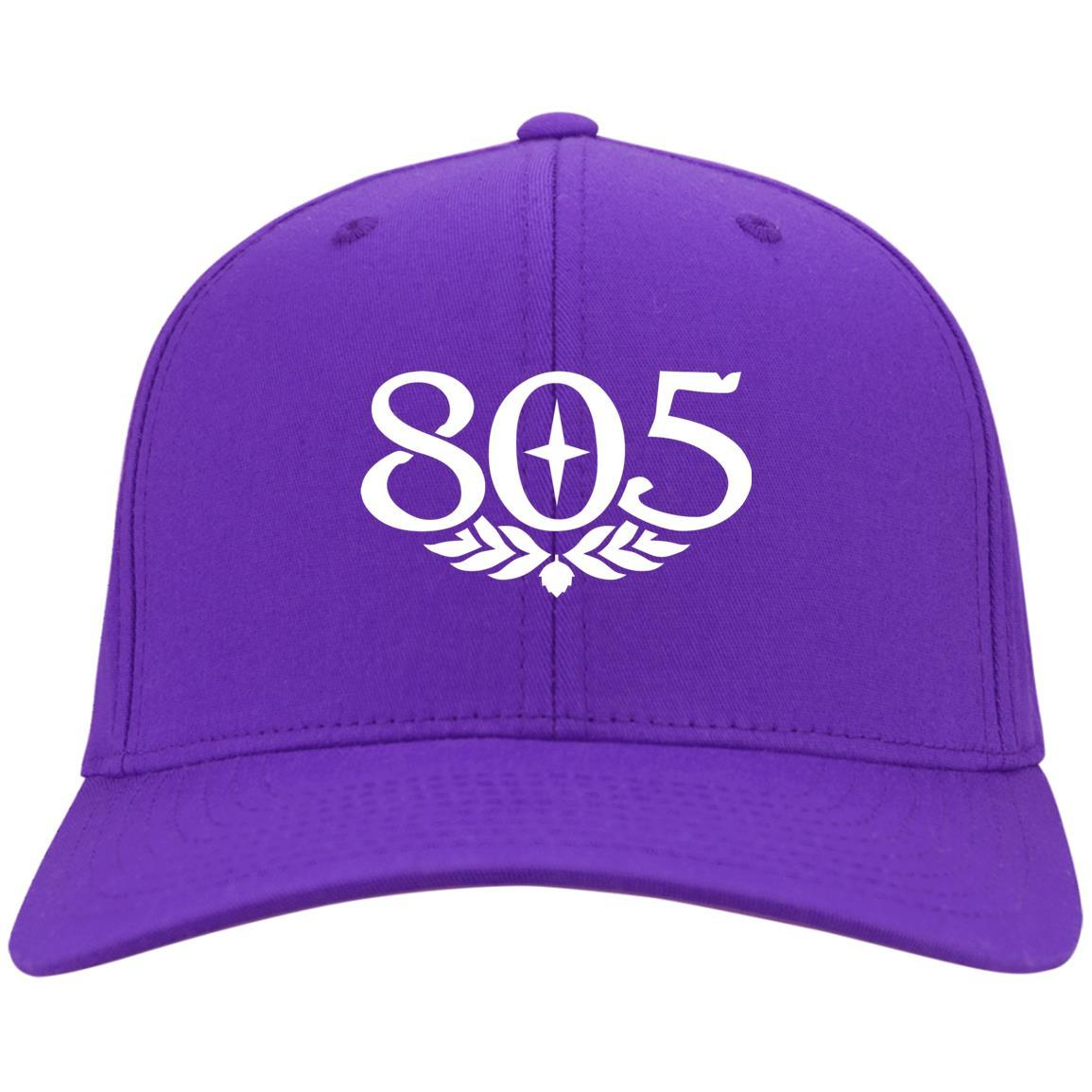 805 Beer - Port & Co. Twill Cap Purple