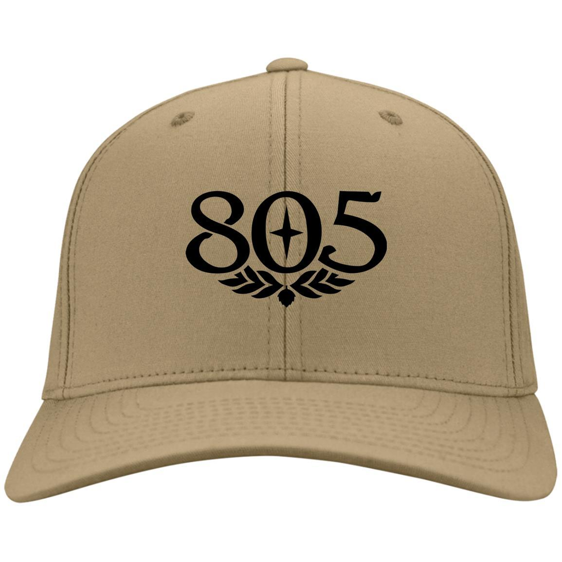 805 Beer Black - Port & Co. Twill Cap Vegas Gold