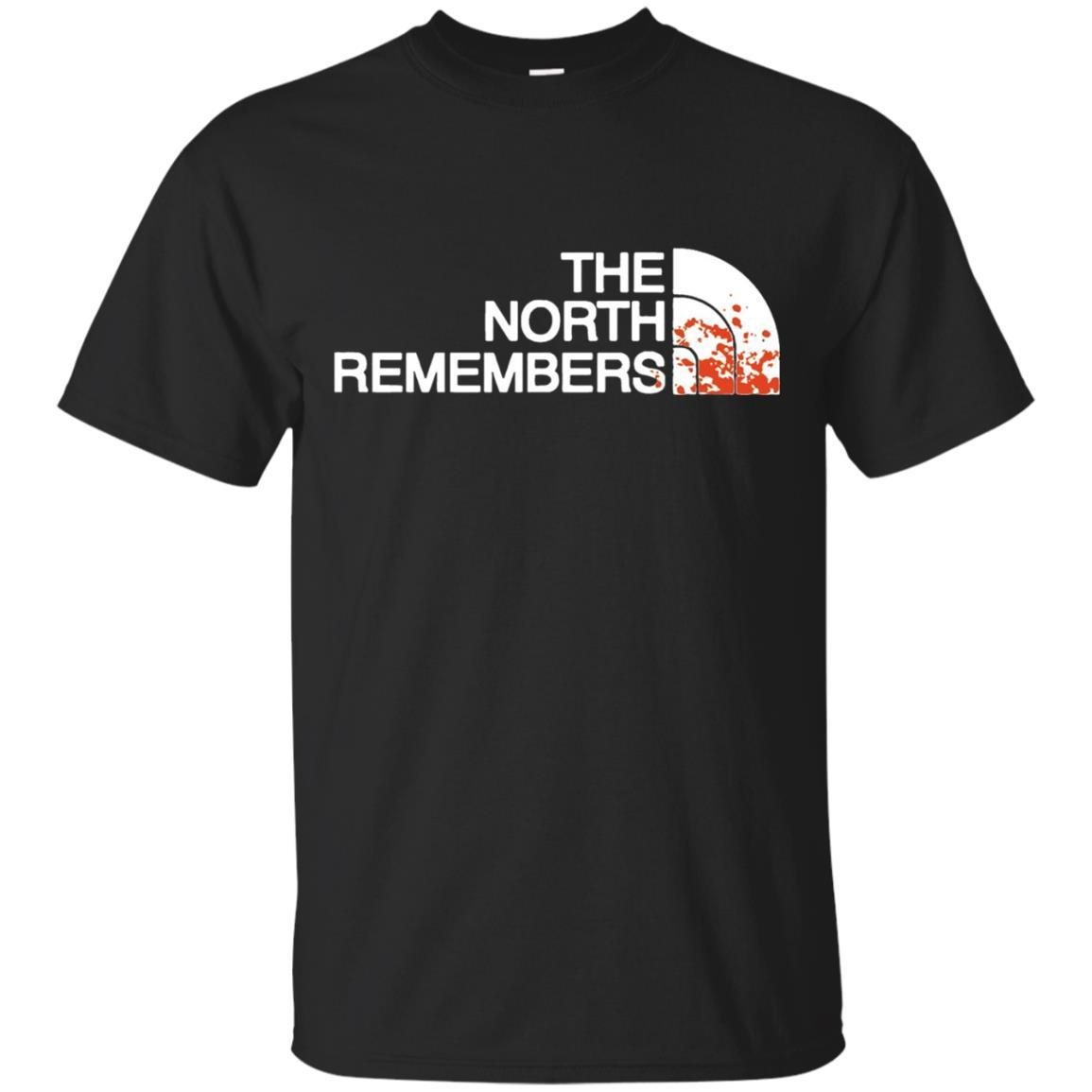 The North Remembers North Face Got T-Shirt Black / 5XL