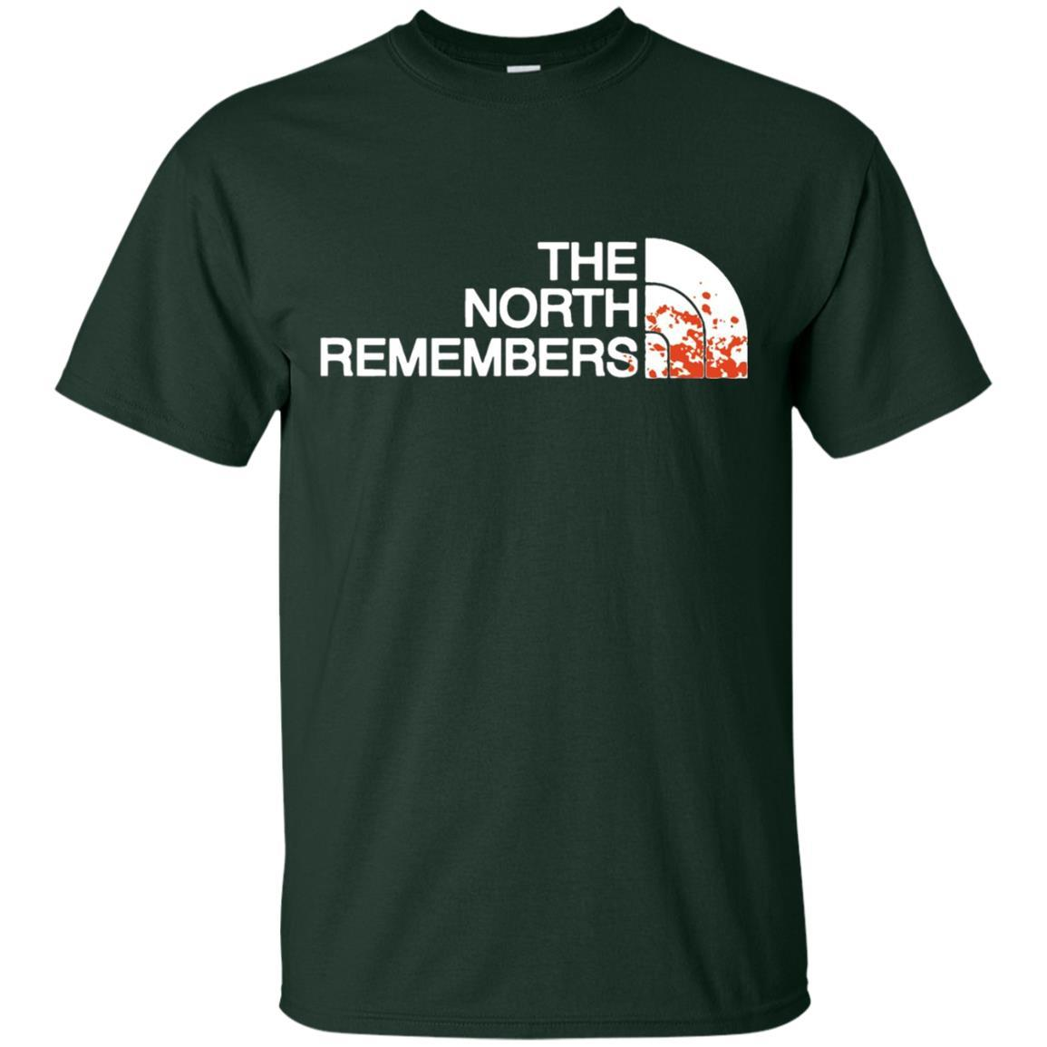 The North Remembers North Face Got T-Shirt Forest / 5XL