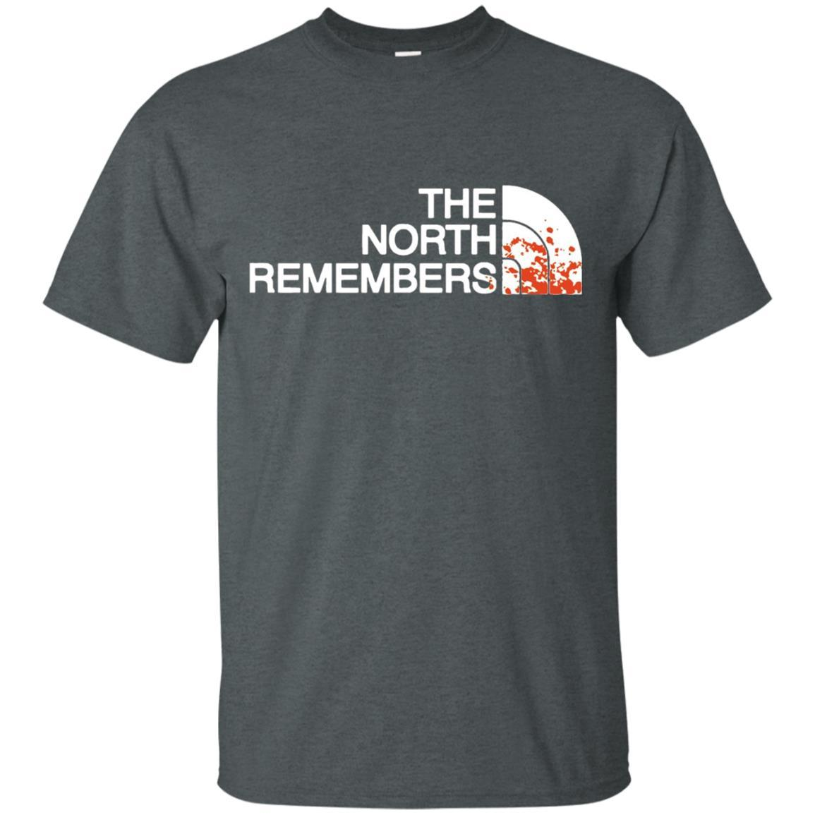 The North Remembers North Face Got T-Shirt Dark Heather / 5XL