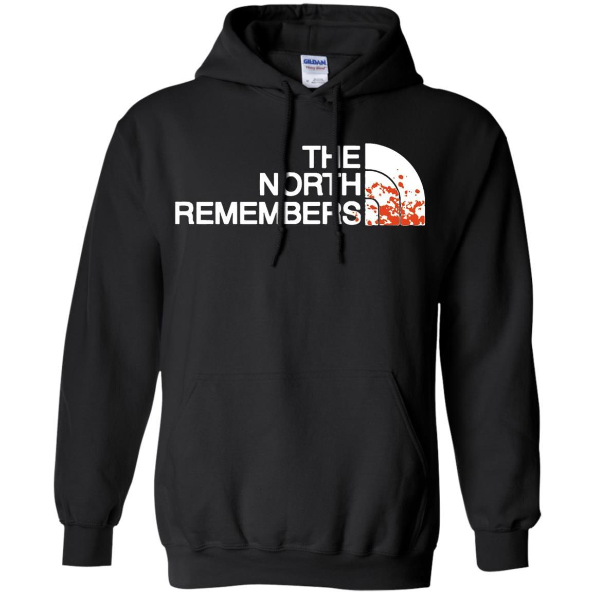 The North Remembers North Face Got - Pullover Hoodie Black / 5XL