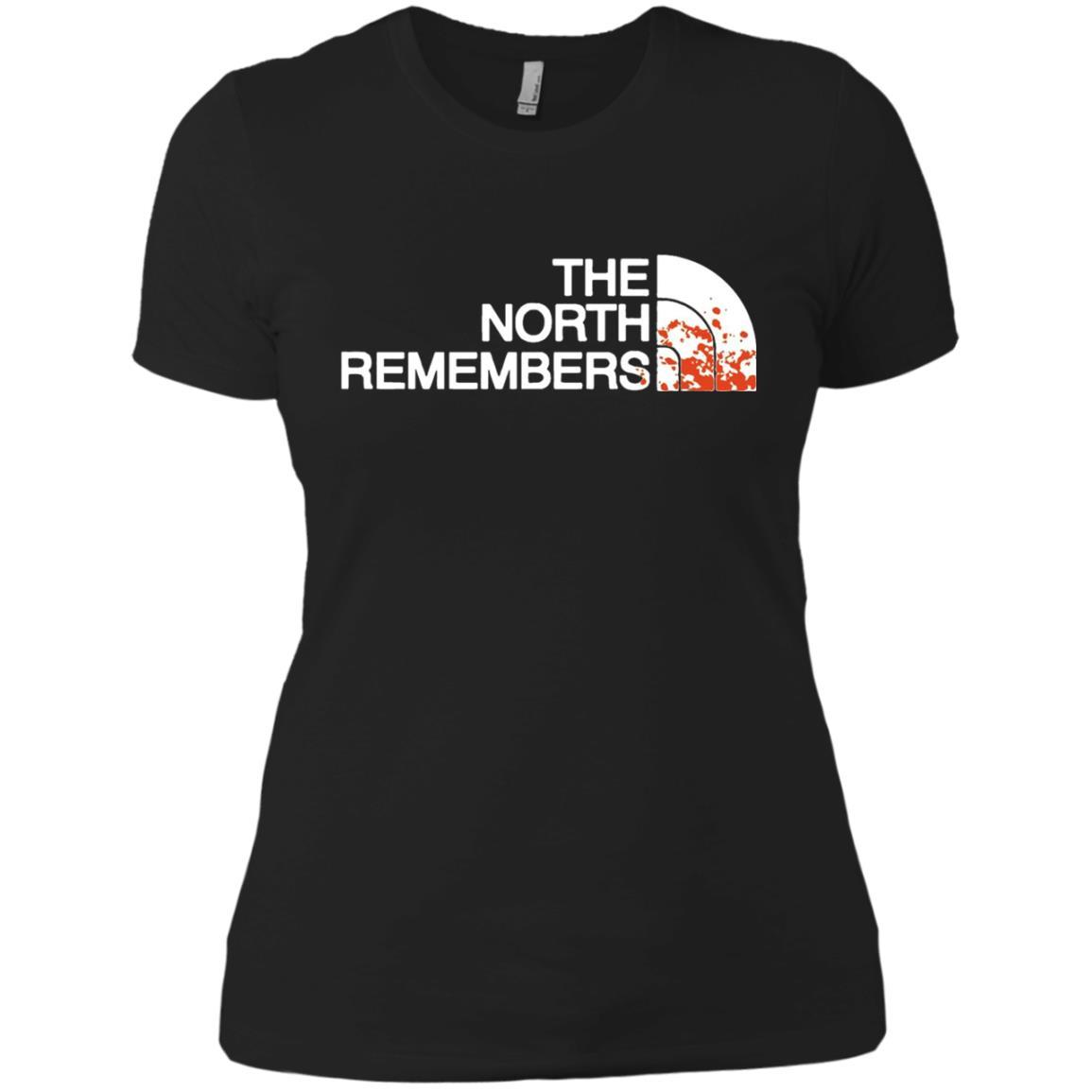 The North Remembers North Face Got - Ladies' Boyfriend T-Shirt Black / 3XL