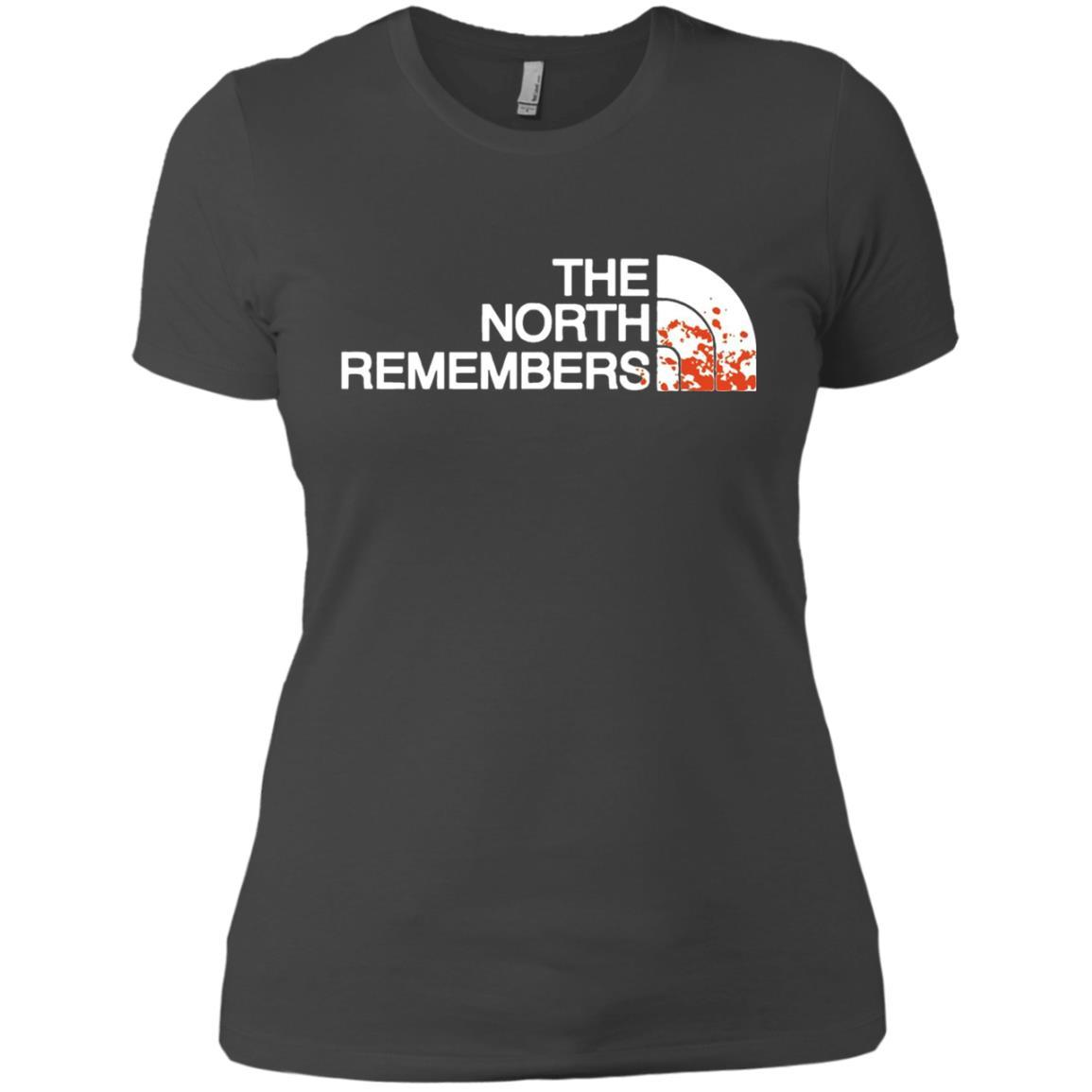 The North Remembers North Face Got - Ladies' Boyfriend T-Shirt Heavy Metal / 3XL