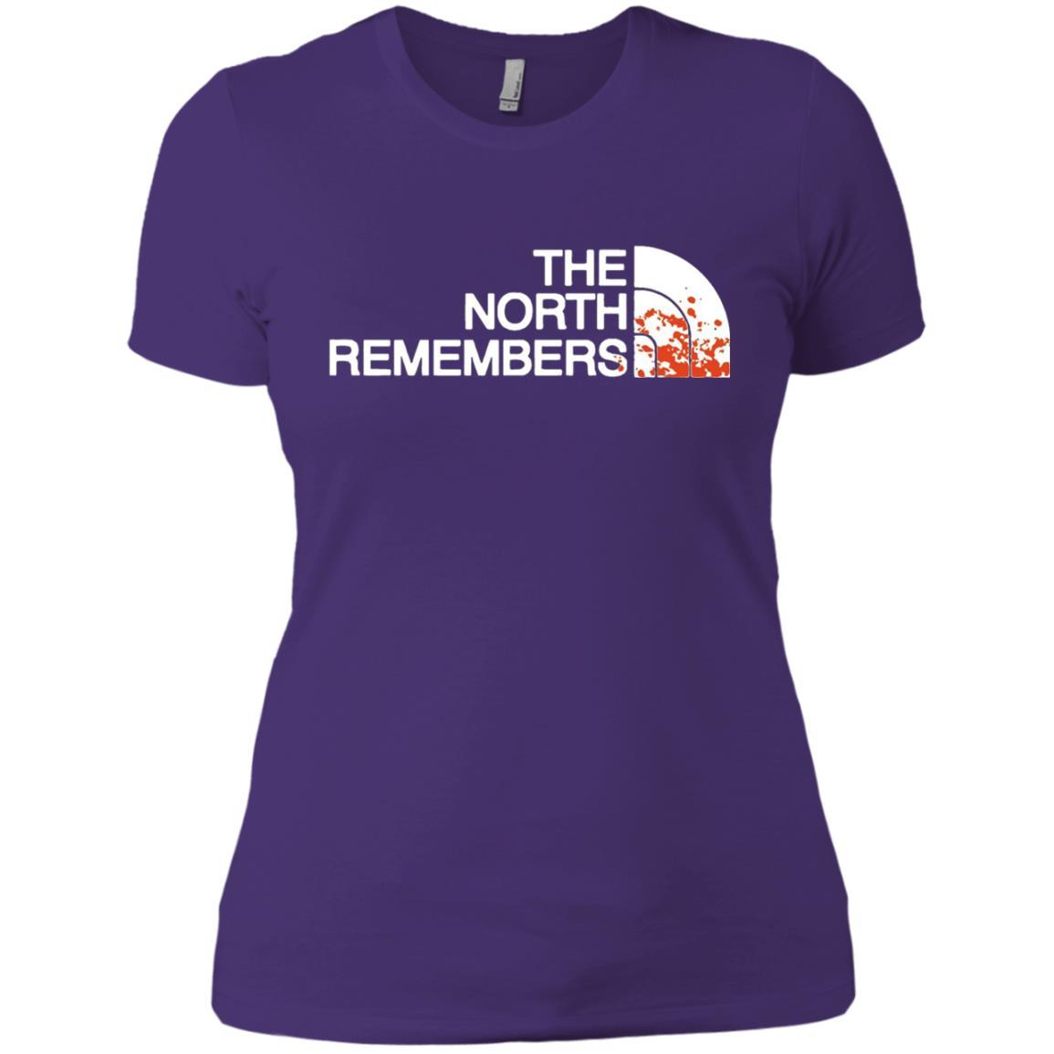 The North Remembers North Face Got - Ladies' Boyfriend T-Shirt Purple Rush/ / 3XL