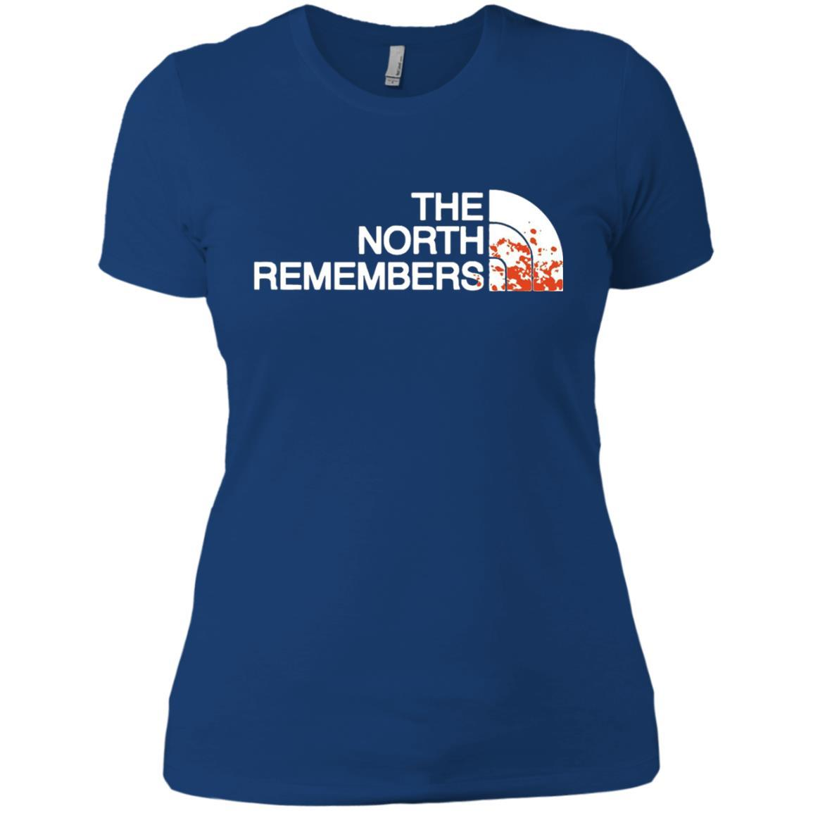 The North Remembers North Face Got - Ladies' Boyfriend T-Shirt Royal / 3XL