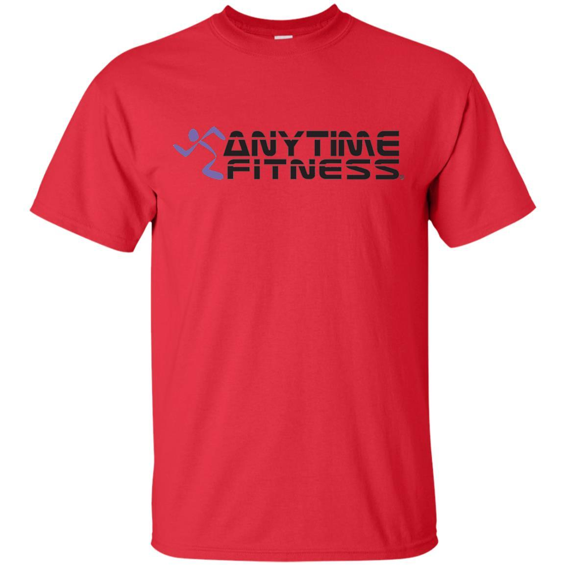 Anytime Fitness Logo T-Shirt Red / 5XL