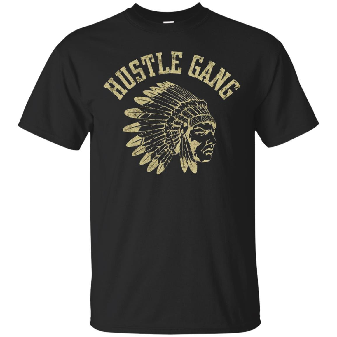 Hustle Gang T-Shirt Black / 5XL