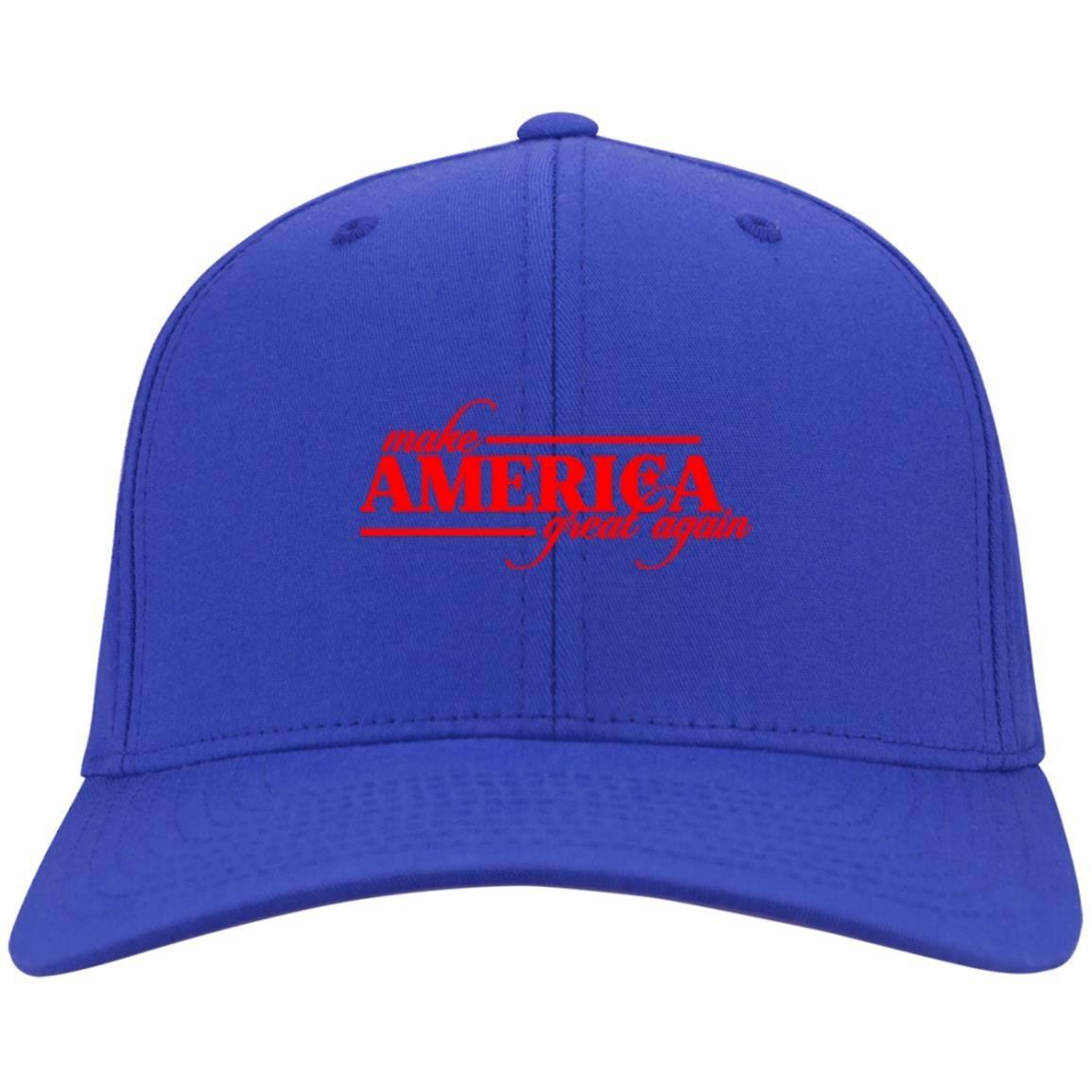 Make America Great Again - Port & Co. Twill Cap Royal