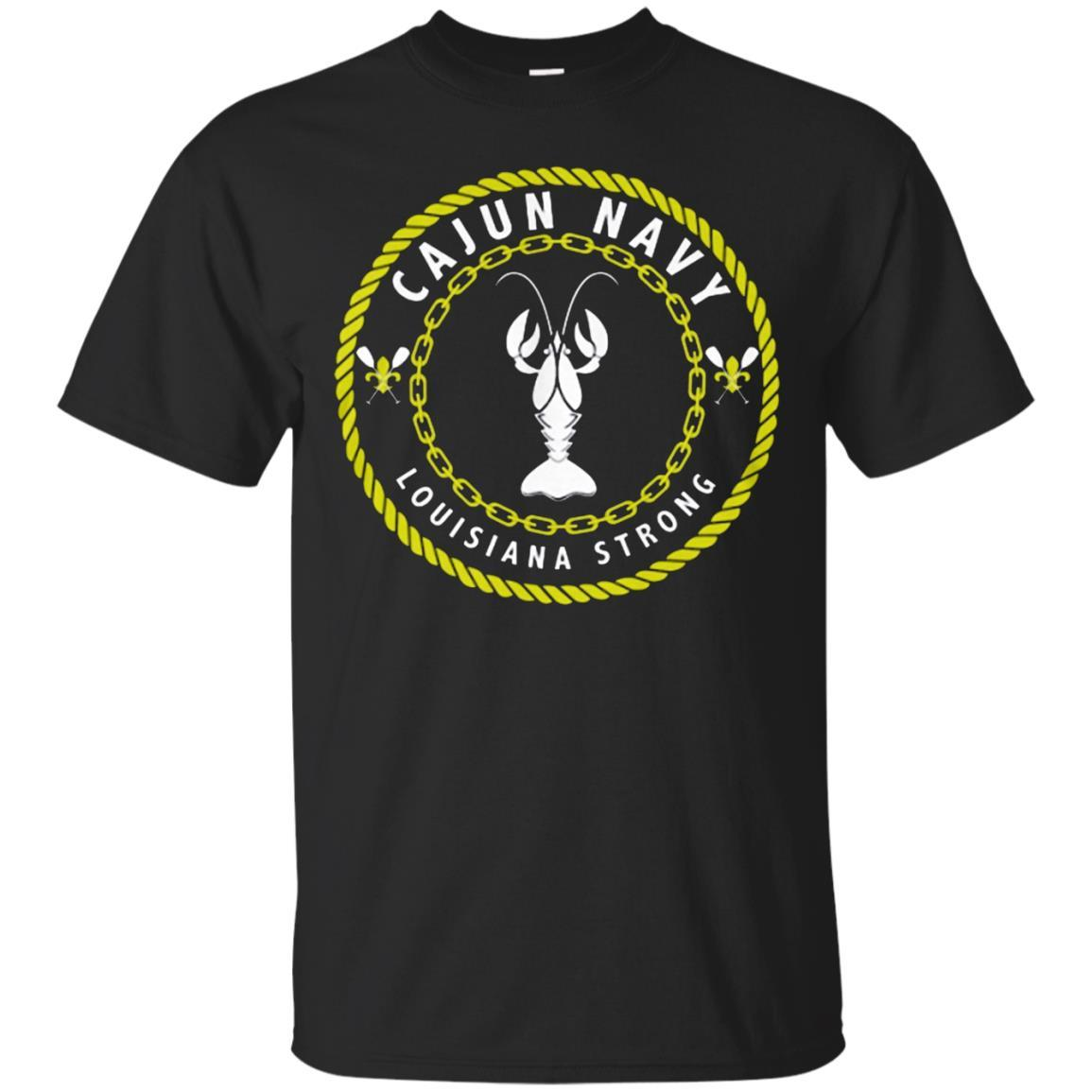 Cajun Navy T-Shirt Black / 5XL