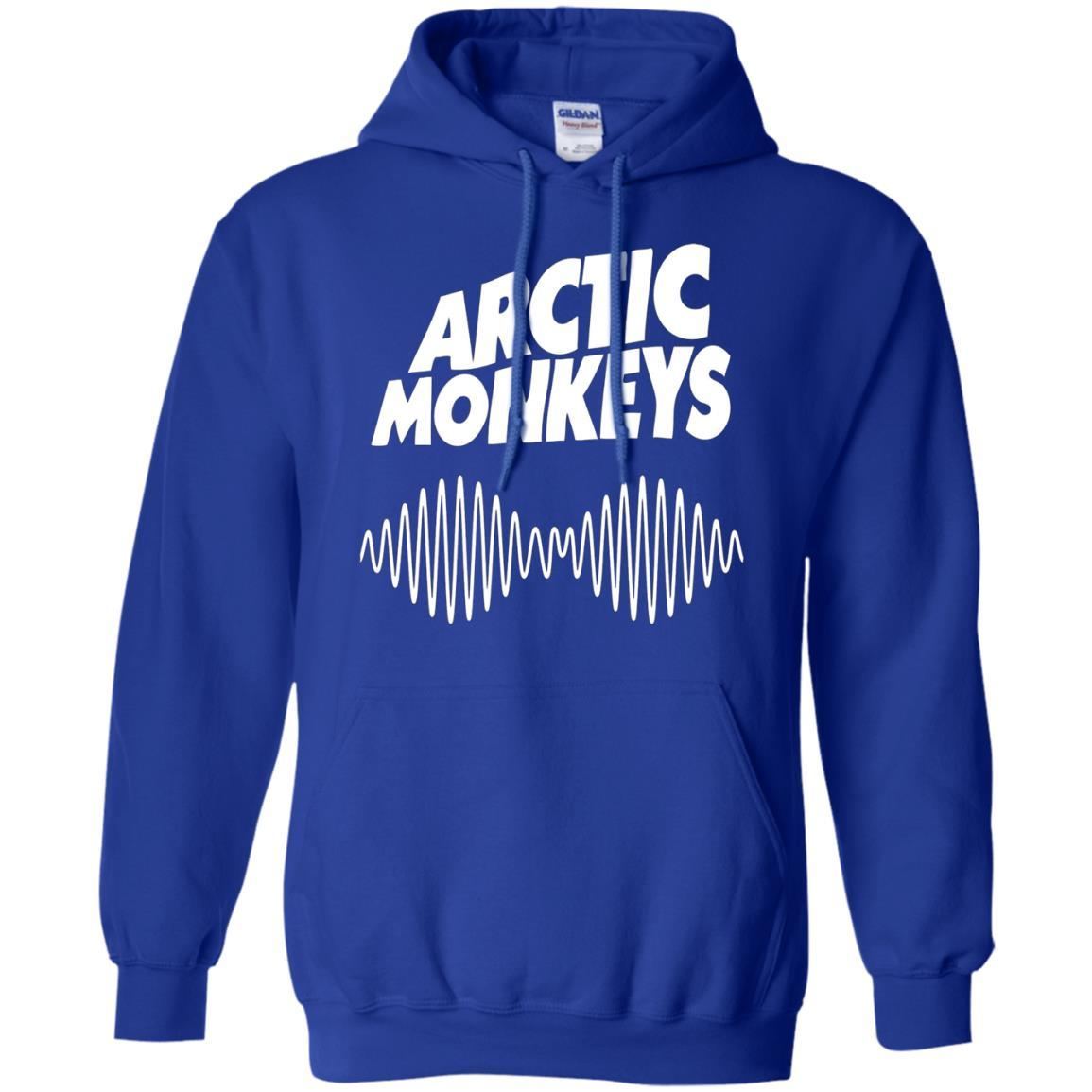 Artic Monkeys Soundwave Music Band - Pullover Hoodie Royal / 5XL