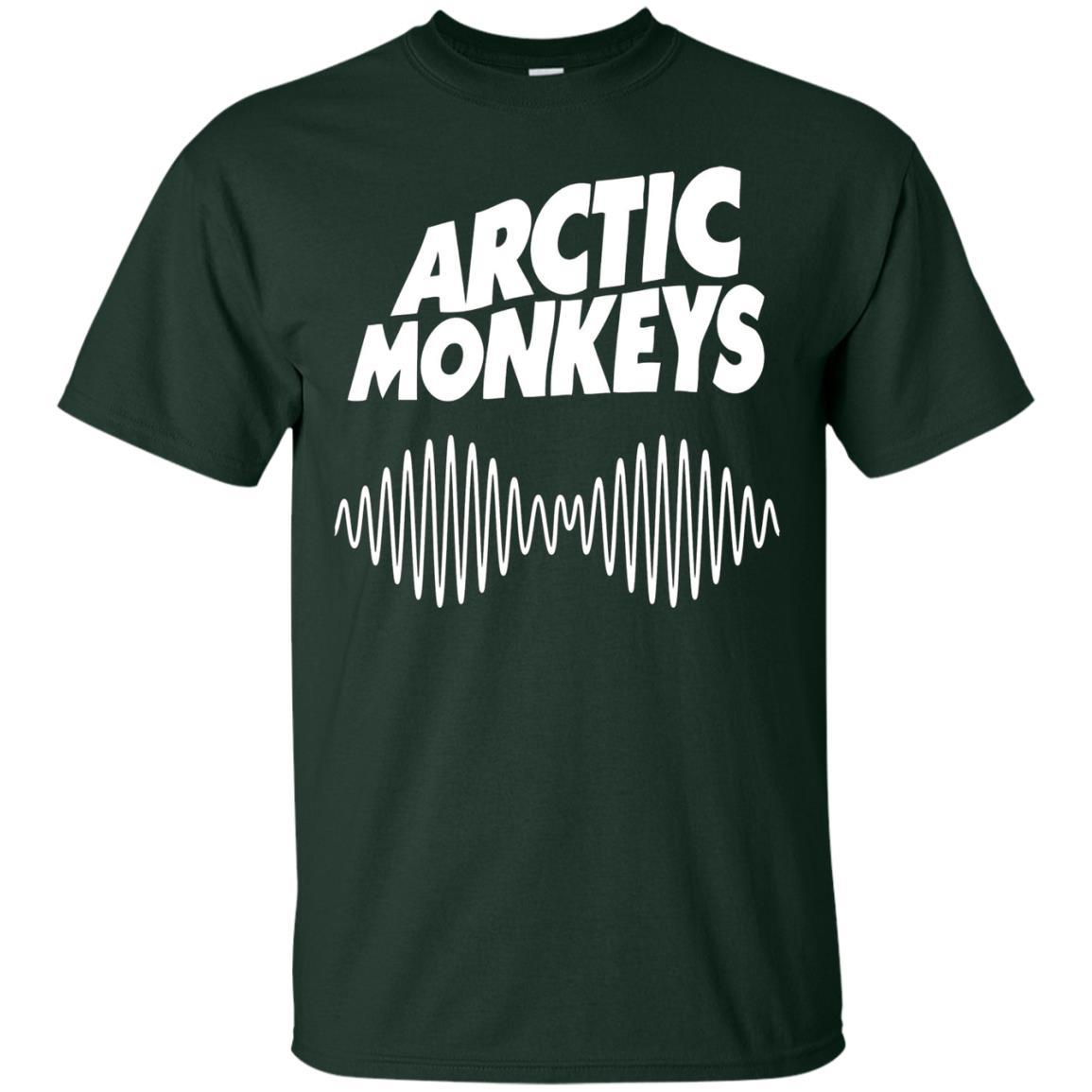 Artic Monkeys Soundwave Music Band Tshirt Forest / 5XL