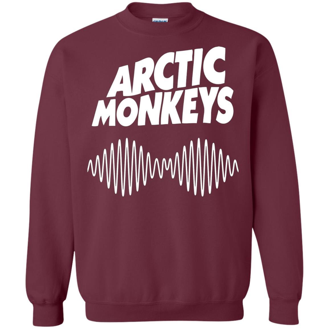 Artic Monkeys Soundwave Music Band Tshirt Maroon / 5XL