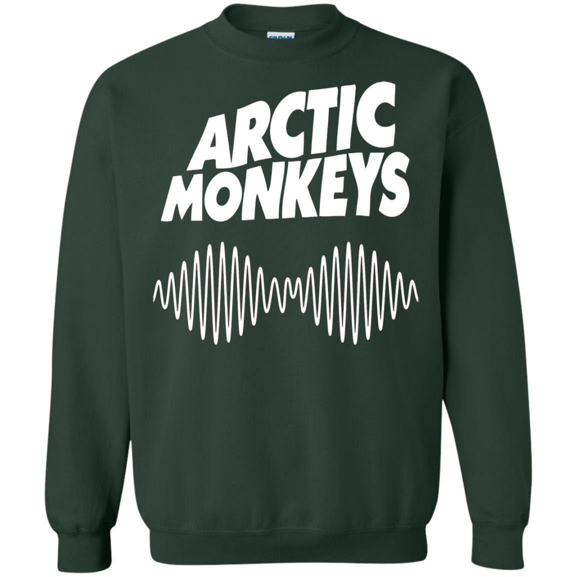 Artic Monkeys Soundwave Music Band Tshirt Forest Green / 5XL