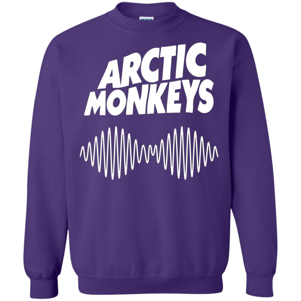 Artic Monkeys Soundwave Music Band Tshirt Purple / 5XL