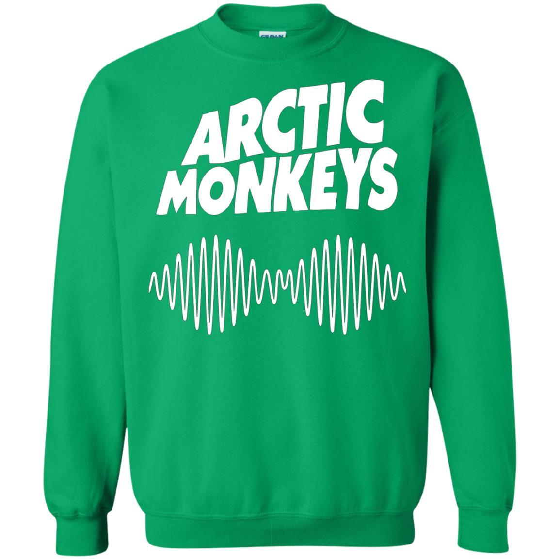 Artic Monkeys Soundwave Music Band Tshirt Irish Green / 5XL