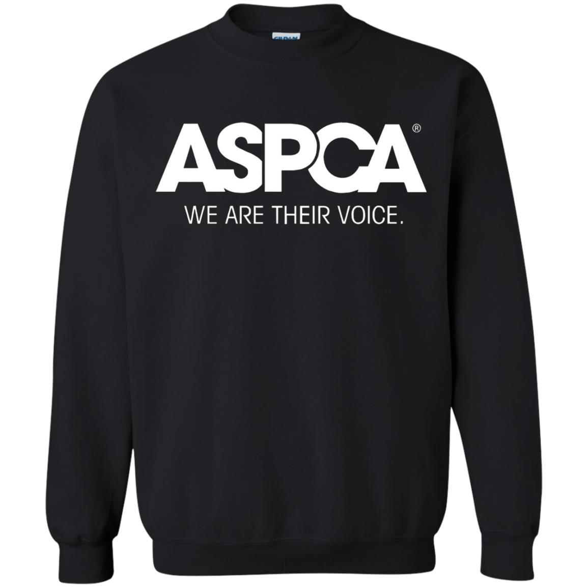 ASPCA Apparel - Crewneck Pullover Sweatshirt Black / 5XL