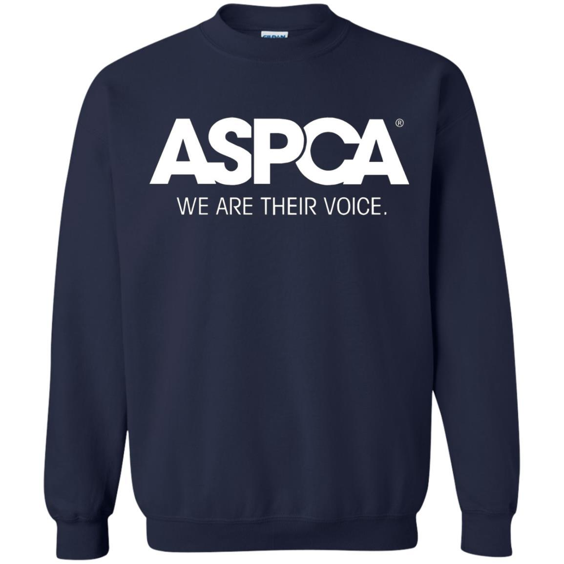 ASPCA Apparel - Crewneck Pullover Sweatshirt Navy / 5XL