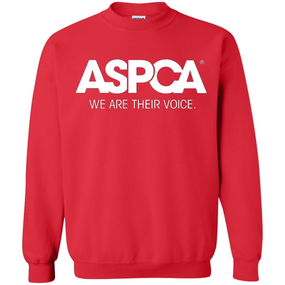 ASPCA Apparel - Crewneck Pullover Sweatshirt Red / 5XL