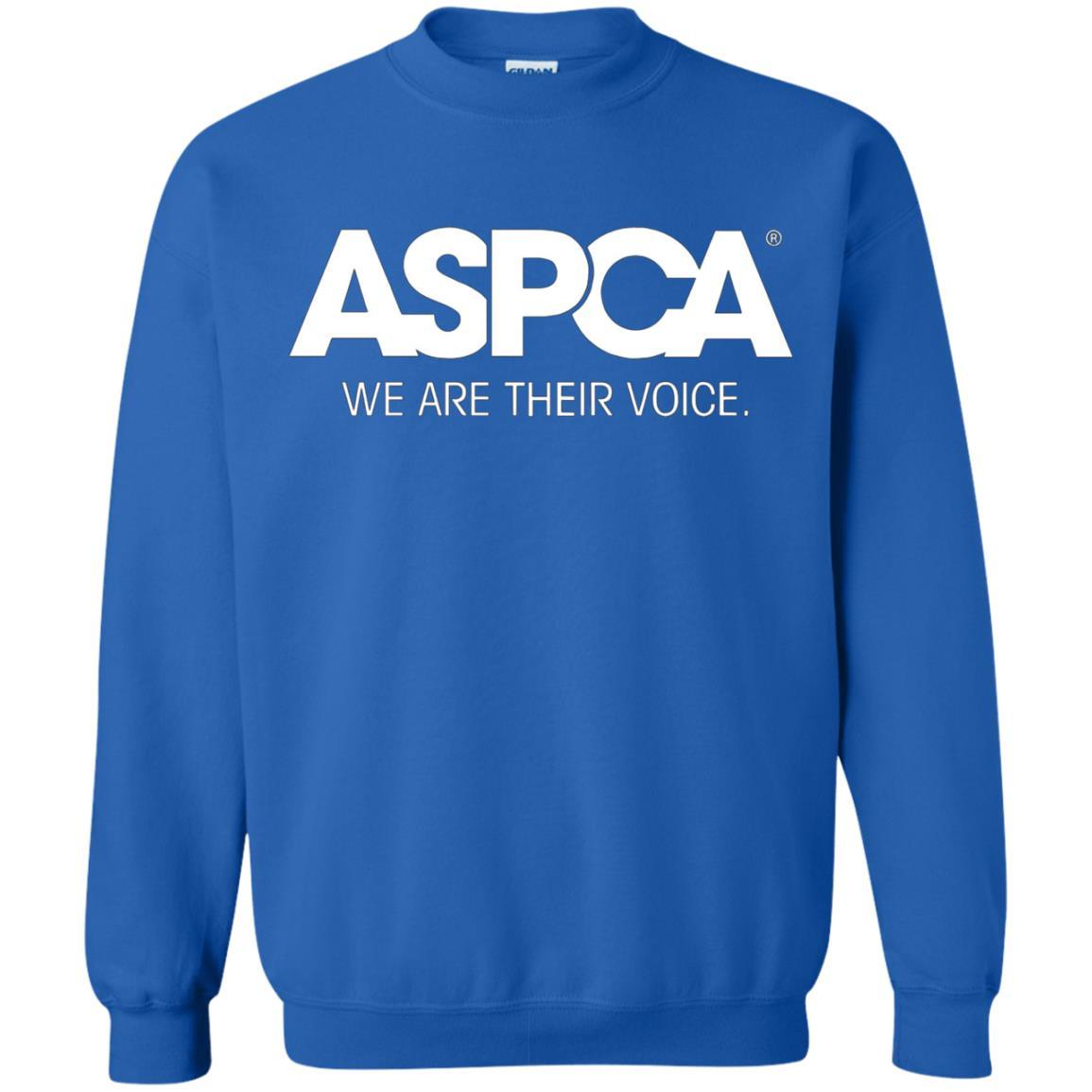 ASPCA Apparel - Crewneck Pullover Sweatshirt Royal / 5XL
