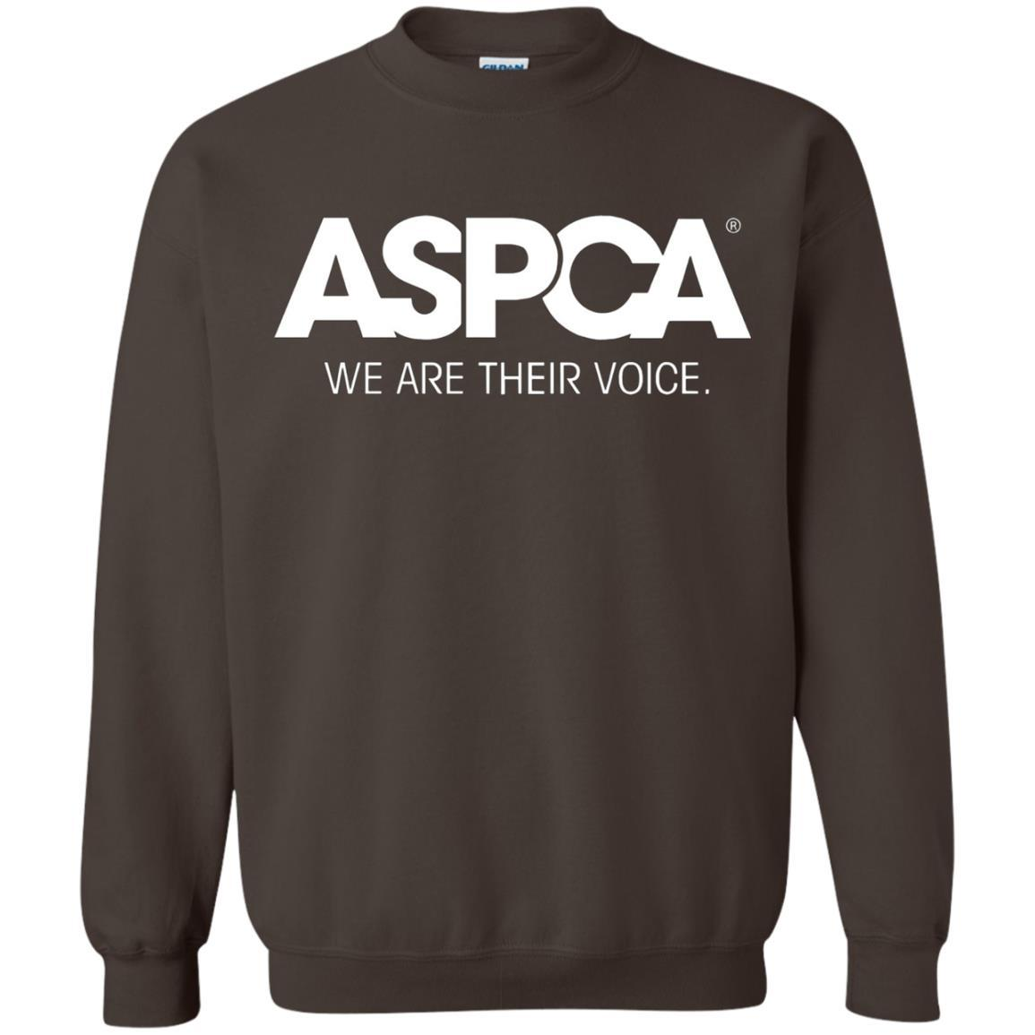 ASPCA Apparel - Crewneck Pullover Sweatshirt Dark Chocolate / 5XL