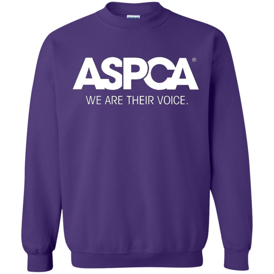 ASPCA Apparel - Crewneck Pullover Sweatshirt Purple / 5XL