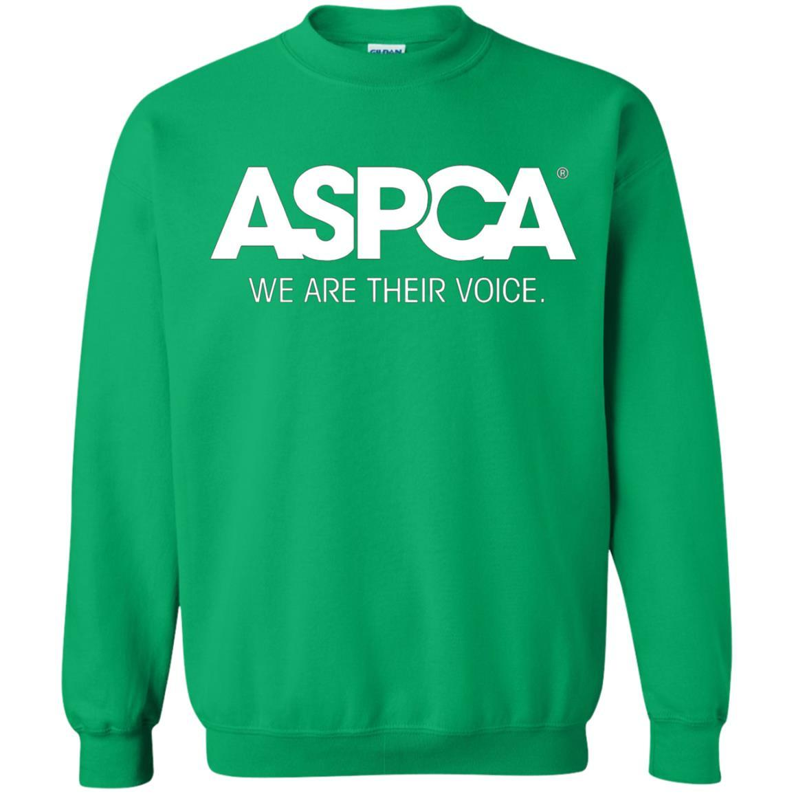 ASPCA Apparel - Crewneck Pullover Sweatshirt Irish Green / 5XL