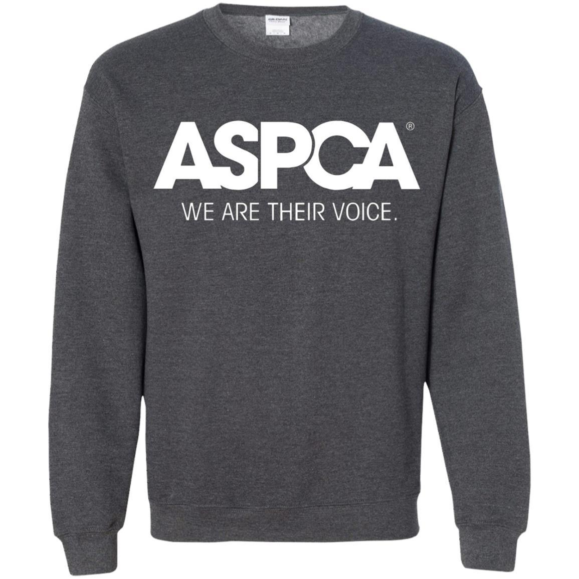 ASPCA Apparel - Crewneck Pullover Sweatshirt Dark Heather / 5XL