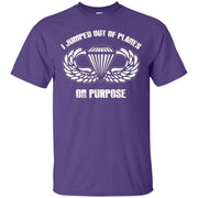 I jumped out of planes on purpose, Airborne T-Shirt