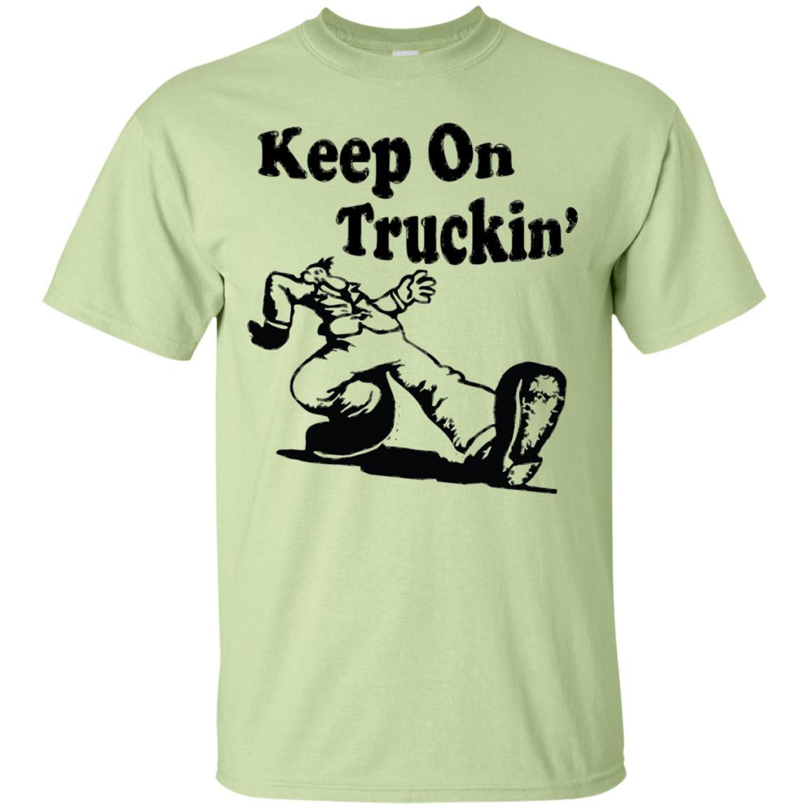 Iconic Keep On Truckin' Tshirt Pistachio / 5XL