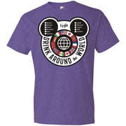 Drink Around the World – EPCOT Checklist – Anvil Lightweight T-Shirt